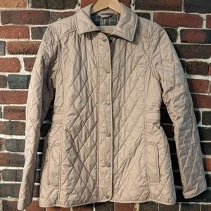 L.L.Bean Quilted Riding Jacket